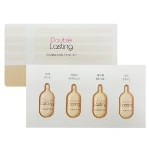 double lasting foundation trial kit2