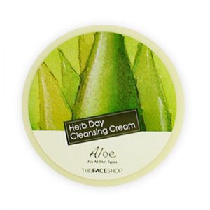 herb day cleansing cream_aloe