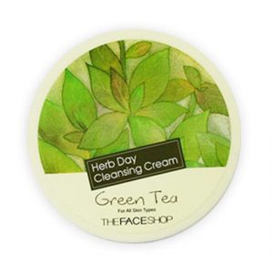 herb day cleansing cream_green tea