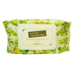 herb day cleansing tissue 70sheets
