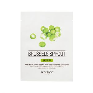 beauty in food mask sheet brussels sprout