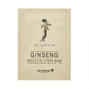 beauty in food mask sheet ginseng